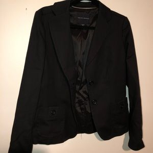 Banana Republic Blazer Black Lined Size 10